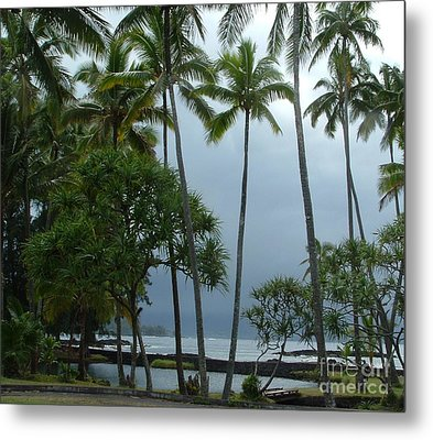 Hawaiian Paradise Metal Print