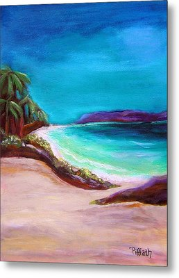 Hawaiin Blue Metal Print