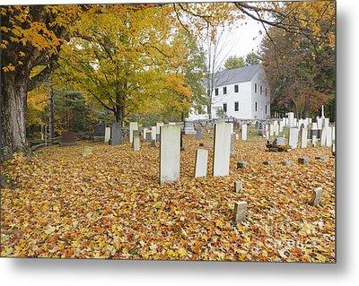 Hawke Meetinghouse - Danville New Hampshire Metal Print by Erin Paul Donovan