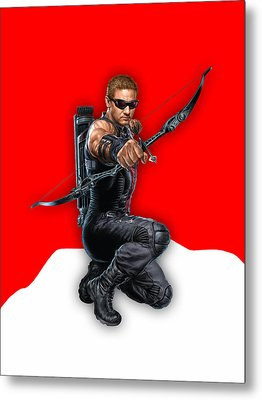 Hawkeye Collection Metal Print by Marvin Blaine