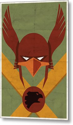 Hawkman Metal Print by Michael Myers