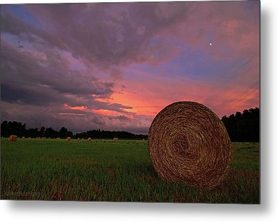 Hay Now Metal Print