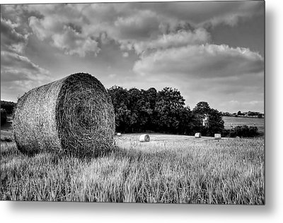 Hay Race Track Metal Print by Jeremy Lavender Photography