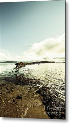 Hdr Island Scenery Metal Print by Jorgo Photography - Wall Art Gallery