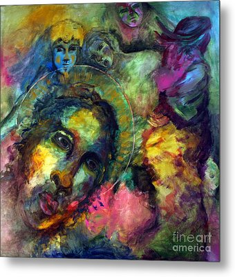 He Lives In Everything Metal Print by Denice Rinks