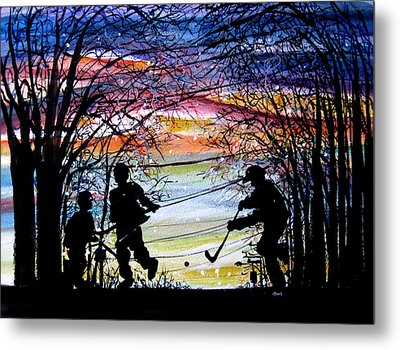 He Shoots And Scores Metal Print by NHowell