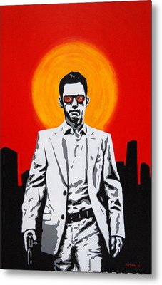 He Used To Be A Spy Metal Print by Justin Overholt