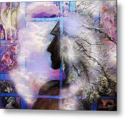 He Waits II Metal Print by Patricia Motley