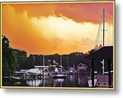 Metal Print featuring the photograph Head For Safety by Brian Wallace