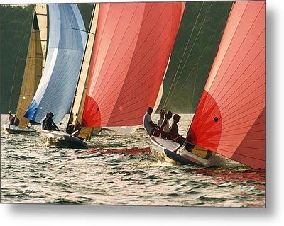 Head On - Lake Geneva Wisconsin Metal Print by Bruce Thompson