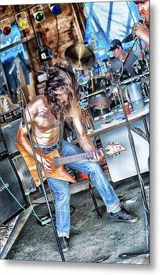 Metal Print featuring the photograph Headbanger by Matthew Ahola
