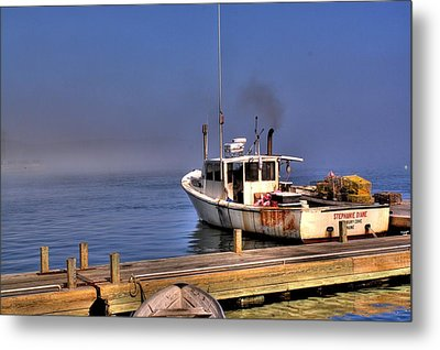 Metal Print featuring the photograph Heading Out To Sea by Greg DeBeck