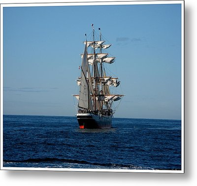Heading Out To Sea Metal Print by Keith Bassolino