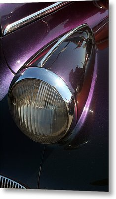 Metal Print featuring the photograph Headlight by Lynn Bawden