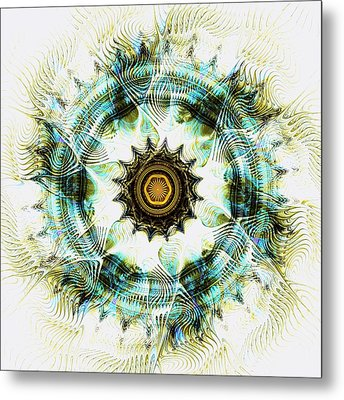 Healing Energy Metal Print by Anastasiya Malakhova