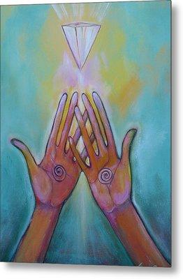 Healing Hands Metal Print by Tara Rieke-Elledge