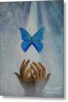Healing Hands Metal Print by Terri Maddin-Miller