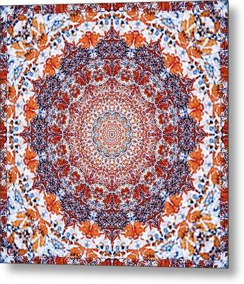 Healing Mandala 2 Metal Print by Bell And Todd