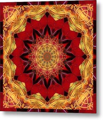 Healing Mandala 28 Metal Print by Bell And Todd