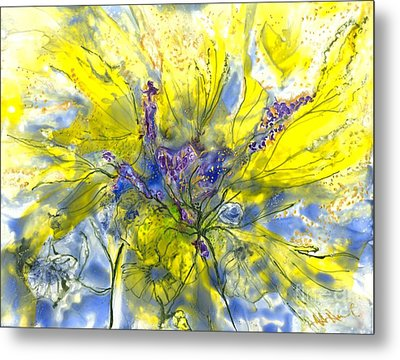 Healing Painting For Viet Metal Print by Heather Hennick