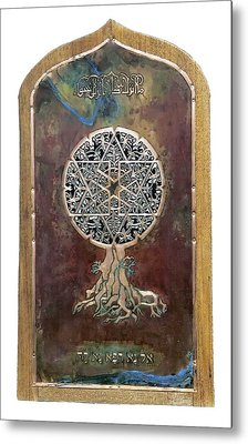 Healing The Tree Of Life Metal Print