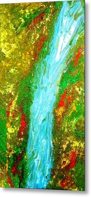 Healing Waters Metal Print by Amy Drago