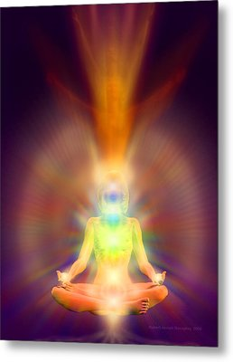 Healthy Aura Metal Print by Robby Donaghey