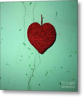 Heart Metal Print by Bernard Jaubert