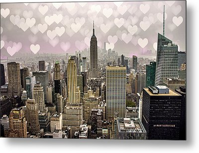 Heart Empire Metal Print