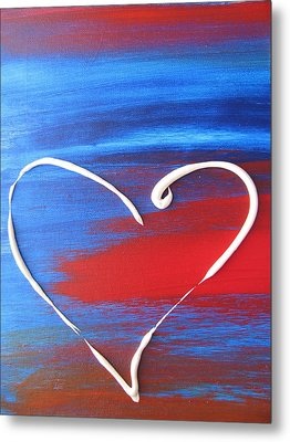 Heart In Motion Metal Print by Lindie Racz