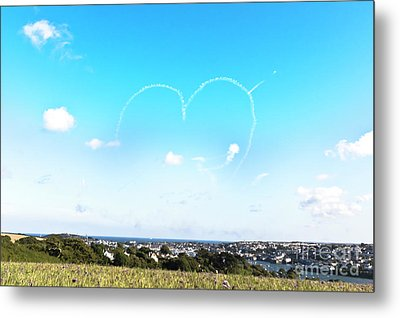Heart In The Sky Metal Print