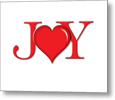 Heart Joy Metal Print