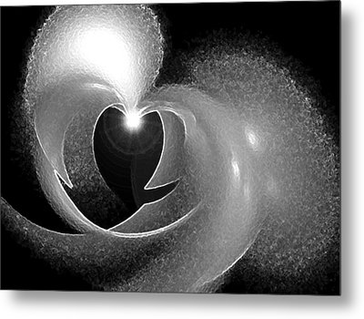 Heart Light Metal Print