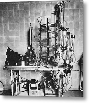 Heart-lung Machine, 20th Century Metal Print by