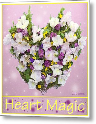 Heart Magic Metal Print by Lise Winne