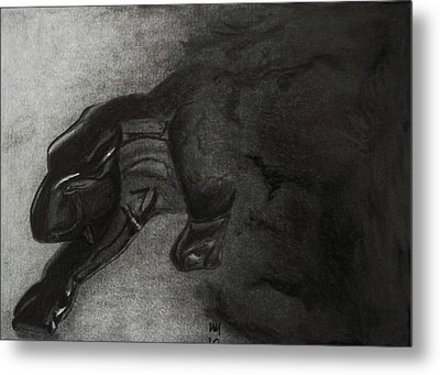 Heart Of Darkness Metal Print by Nick Young