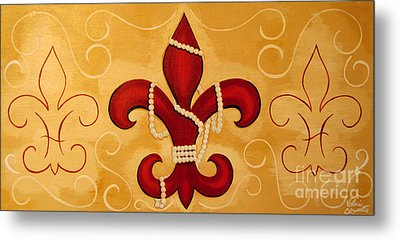 Heart Of New Orleans Metal Print