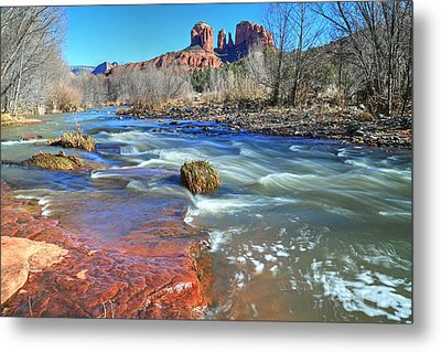 Heart Of Sedona 2 Metal Print by Donna Kennedy