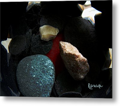 Heart Of Stone Metal Print by RC DeWinter
