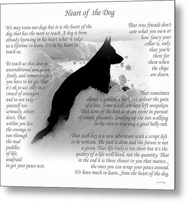 Heart Of The Dog Version Two Metal Print