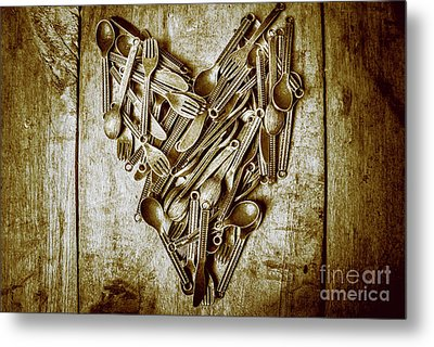 Heart Of The Kitchen Metal Print