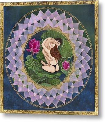 Heart Of The Lotus Metal Print