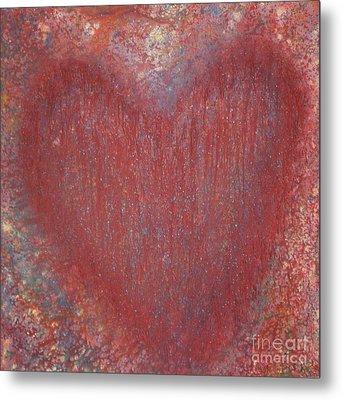 Heart Of The Matter Metal Print