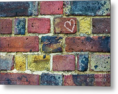 Heart Of The Matter Metal Print by Tim Gainey