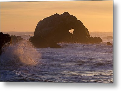 Metal Print featuring the photograph Heart Of The Ocean by Nathan Rupert