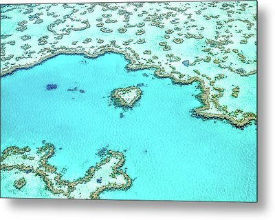 Heart Of The Reef Metal Print by Az Jackson