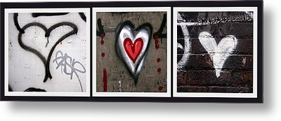heART Metal Print by Russell Styles