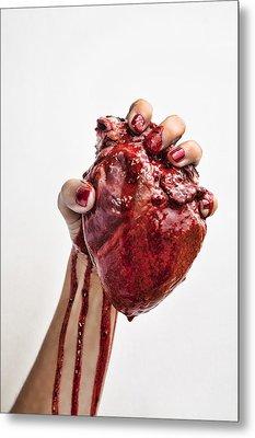 Heartbreaker Metal Print by John Crothers