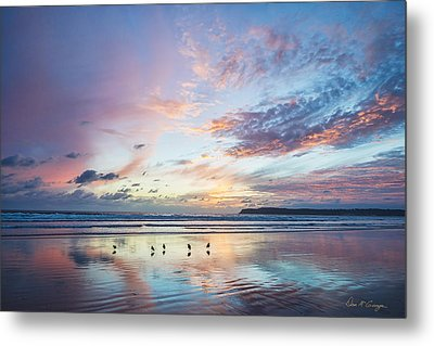 Hearts In The Sky Metal Print