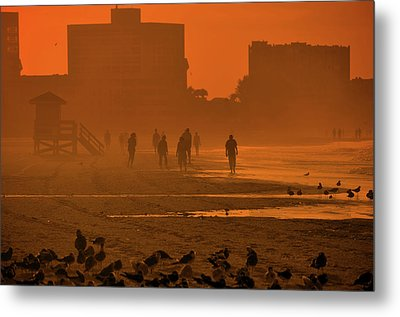 Heat Waves Metal Print